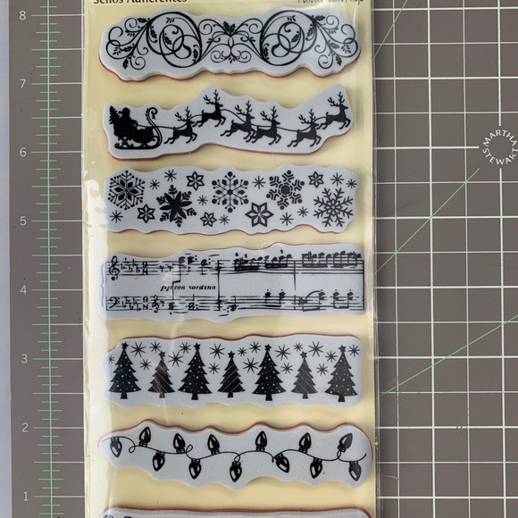 🧑🎄Recollections🧑🎄 Xmas Borders Stamps Set